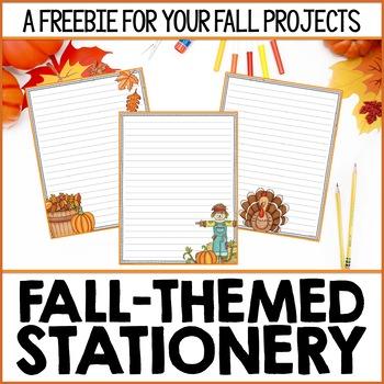 Thanksgiving Stationary Printables