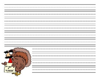 Thanksgiving Stationary