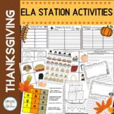 Thanksgiving Stations Learning Fun with Common Core Math and ELA