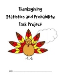 Thanksgiving Statistics and Probability Task Project