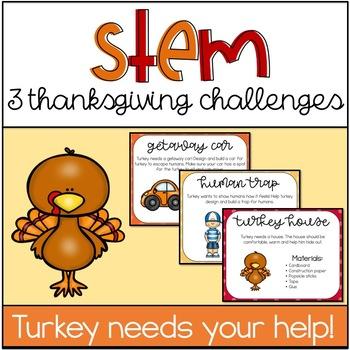 Thanksgiving Stem Challenges