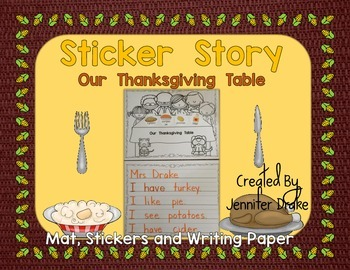 Thanksgiving Sticker Story