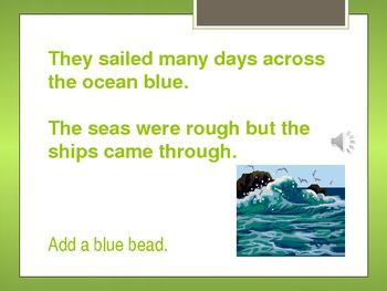 Thanksgiving Story Bracelet PowerPoint