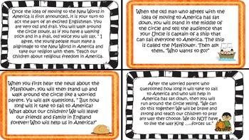 Thanksgiving Story IB PYP Drama Circle Literacy Activity