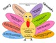Thanksgiving Story Elements Turkey