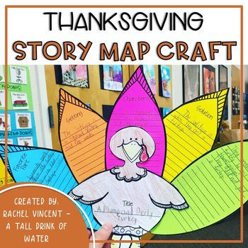 Thanksgiving Story Map Turkey Craft