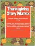 Thanksgiving Story Matrix: A creative approach to narrative story writing
