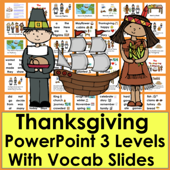 Thanksgiving PowerPoint:  The Thanksgiving Story