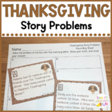 Thanksgiving Math Word Problems