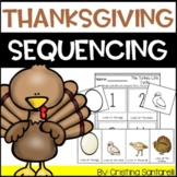 Thanksgiving Story Sequencing