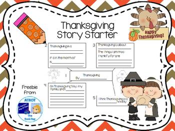 Thanksgiving Story Starter