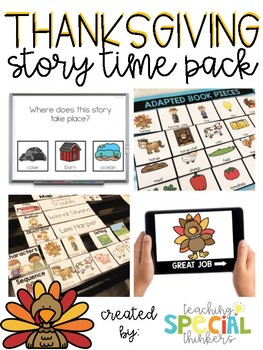 STORY TIME PACK: THANKSGIVING #2treats4you
