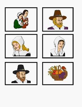 Thanksgiving Story and Game for Reading Skills *Differentiated!