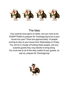 Thanksgiving Strike -A Cross-Curricular Project