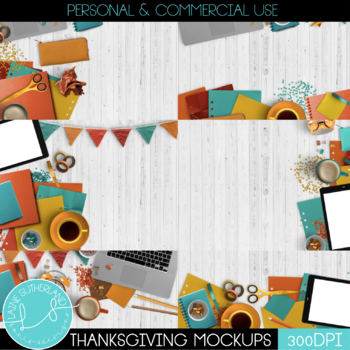 Thanksgiving Styled Mockups