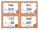 Thanksgiving Subtraction (3 Digit) Task Cards