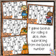 Thanksgiving Subtraction Bump Games - 16 Math Game Boards