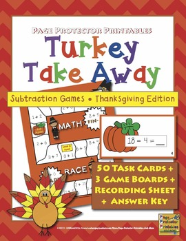 Thanksgiving Subtraction