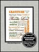 Thanksgiving Poster Religion Christian Education Classroom Decoration