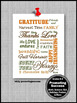 Thanksgiving Poster Religion Christian Education Classroom