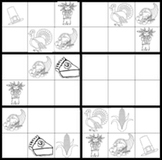 Thanksgiving Sudoku Game Worksheets (easy & hard)