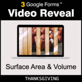 Thanksgiving: Surface Area and Volume - Google Forms Math