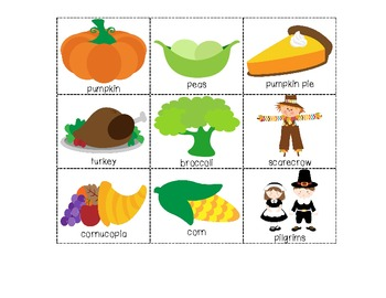 Thanksgiving Syllable Count