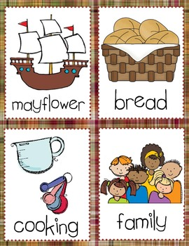 Thanksgiving Syllable Sort (1, 2 and 3 Syllables)
