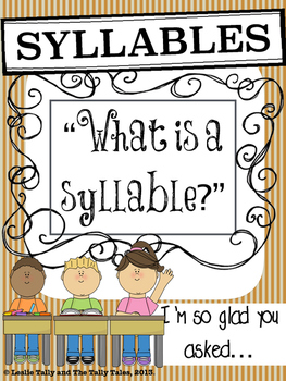 Thanksgiving Syllables: Differentiated Phonological Awareness Activities