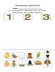 Thanksgiving Syllables and Beginning Sounds