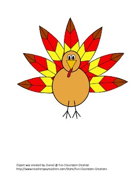 Thanksgiving Symbol Search - listening activity