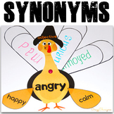 Thanksgiving Activities - Synonyms Practice
