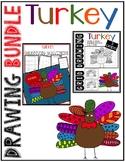 Thanksgiving TURKEY Drawing Bundle