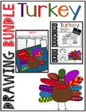 Thanksgiving TURKEY Drawing Bundle