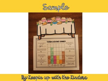 Thanksgiving Table Counting and Graphing Activity!