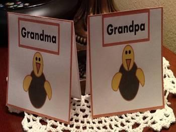 Thanksgiving Table Nameplates