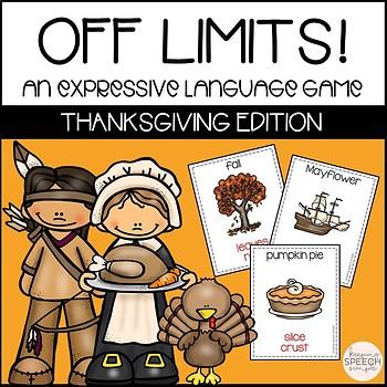 Thanksgiving Taboo - A Social Language Game