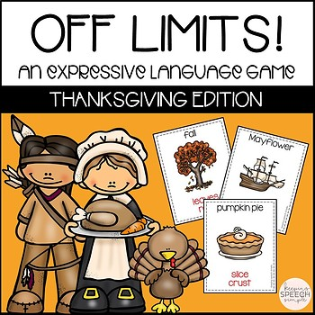 Off Limits - An Expressive Language Game Thanksgiving Edition