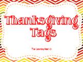 Thanksgiving Tags