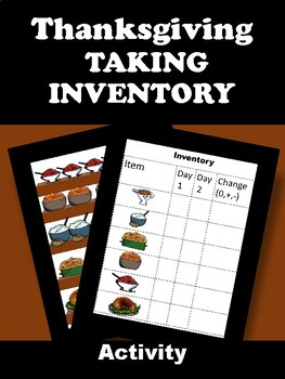 Thanksgiving Taking Inventory