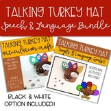 Thanksgiving Talking Turkey Hat BUNDLE: Speech & Language Therapy