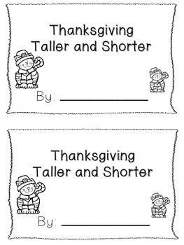 Thanksgiving Taller and Shorter