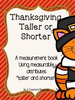 Thanksgiving Taller and Shorter
