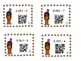 Thanksgiving Task Cards with Division Problems and QR Codes