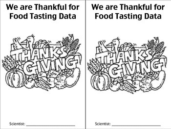 Thanksgiving Tasting Booklet