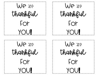 Thanksgiving Teacher Gift and Redbox Tag