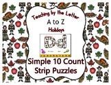 Thanksgiving ~ Teaching by the Letter Holiday Strip Number