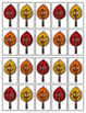 Thanksgiving Telling Time Game to 5 Minutes