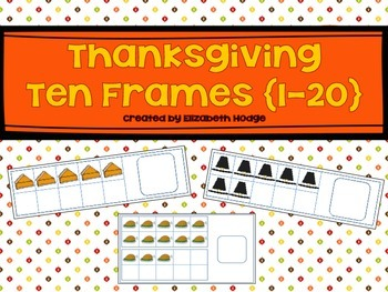 Thanksgiving Ten Frames (1-20)