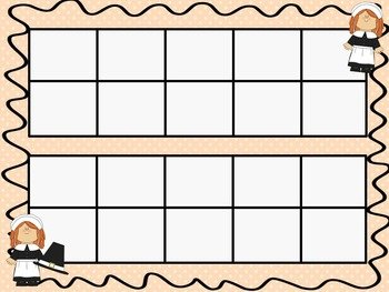 Thanksgiving Ten Frames - 10 QUICK Prep Pages!